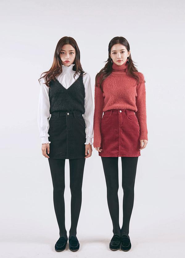 报码:最新女士短款毛衣搭配 时尚矮个子女生的穿衣方式